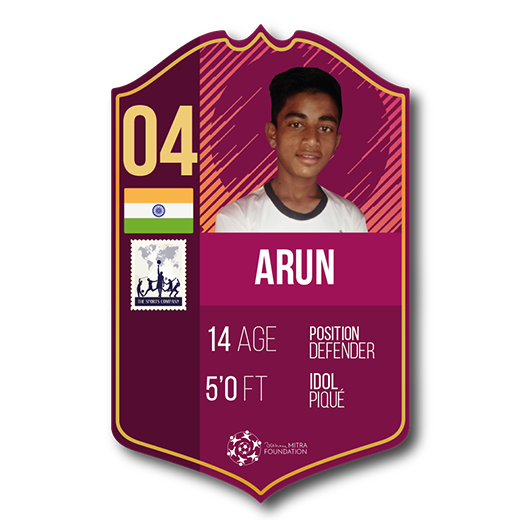 Arun fut card defender