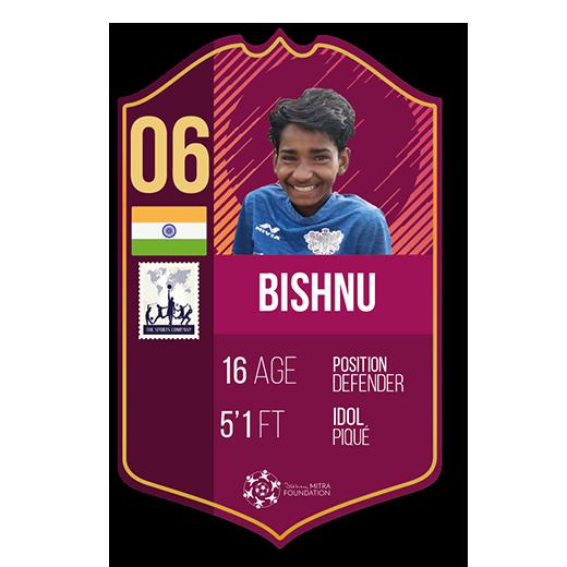 Bishnu fut card defender