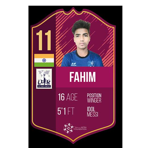 Fahim Rehman fut card winger