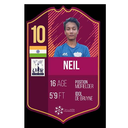 Neil Kullu fut card midfielder
