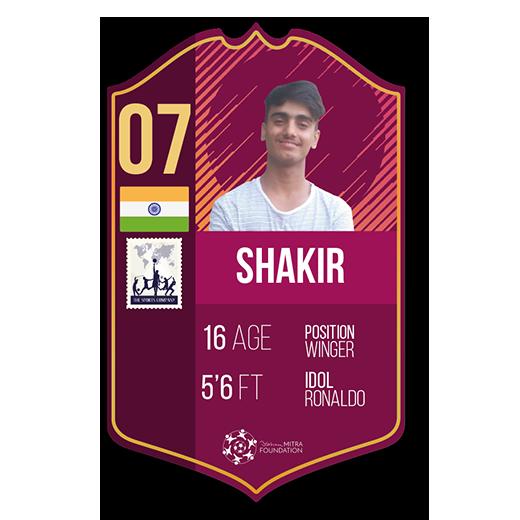 shakir khan fut card winger